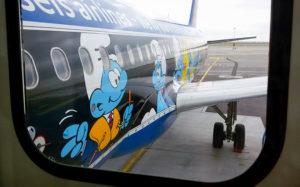 avion schtroumpf, festival de la BD, musée louis de funès